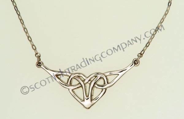 Celtic Heart Necklet