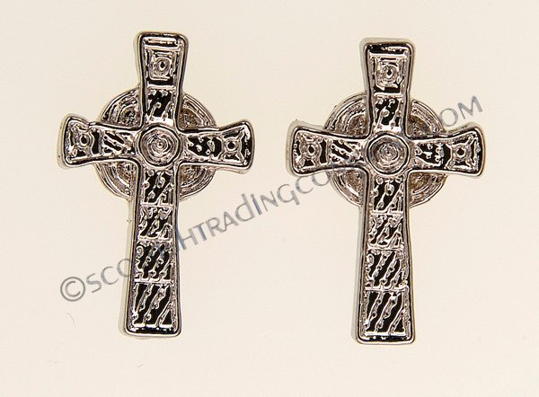 Iona Cross Earrings