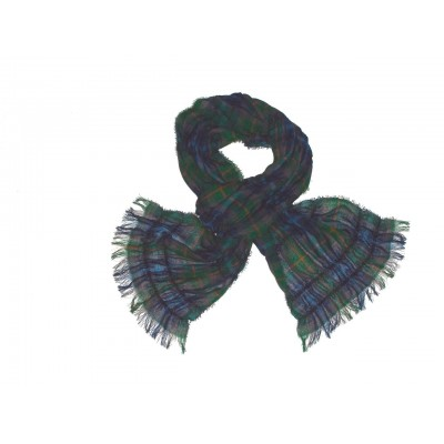New York City Tartan Scrunci Scarf