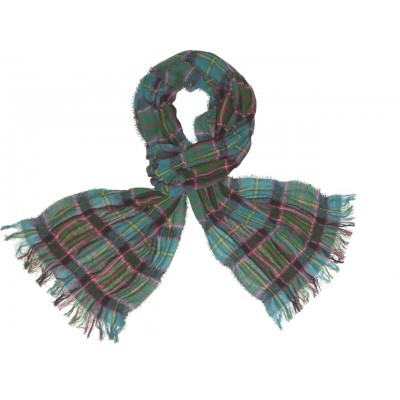 Stirling and Bannockburn Tartan Scrunci Scarf