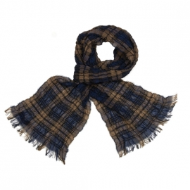 Black Watch Tartan Scrunci Scarf