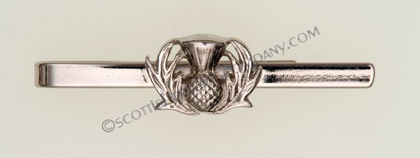 Scottish Thistle Tiebar