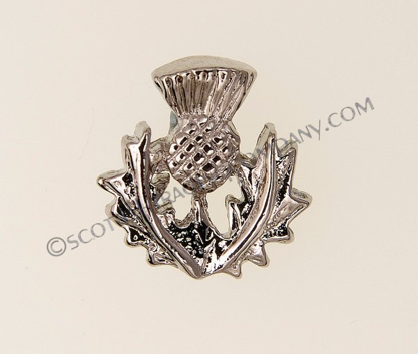 Scottish Thistle Tie Tack