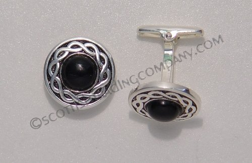 Stone Interlace Cufflinks