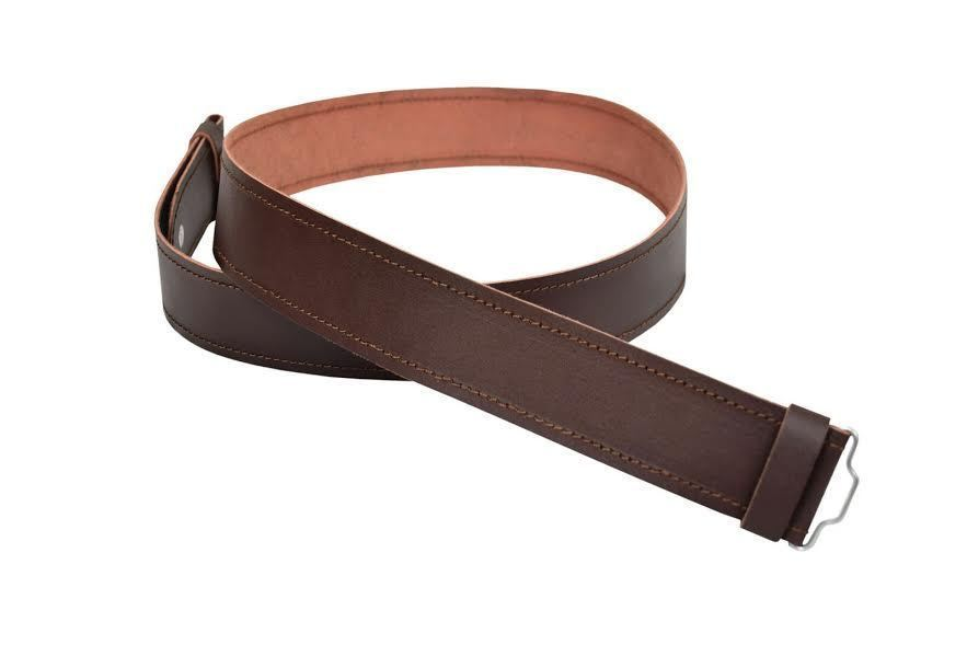 2 1/4 Brown Leather Kilt Belt