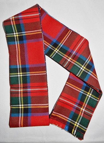 Scottish Tartan Handfasting Wrap 16oz Strome Tartans