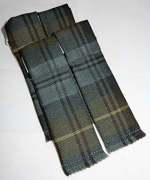 Gordon Weathered Tartan Flashes Special