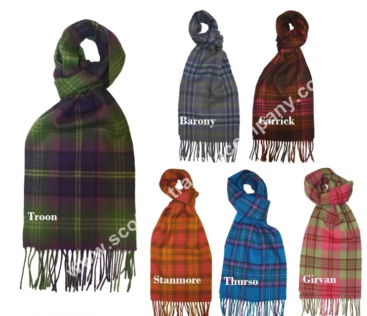 Scottish Fashion Tartan Scarves