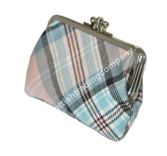 Diana Memorial Rose Tartan Medium Coin Purse