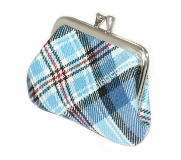 Diana Memorial Tartan Small Coin Purse
