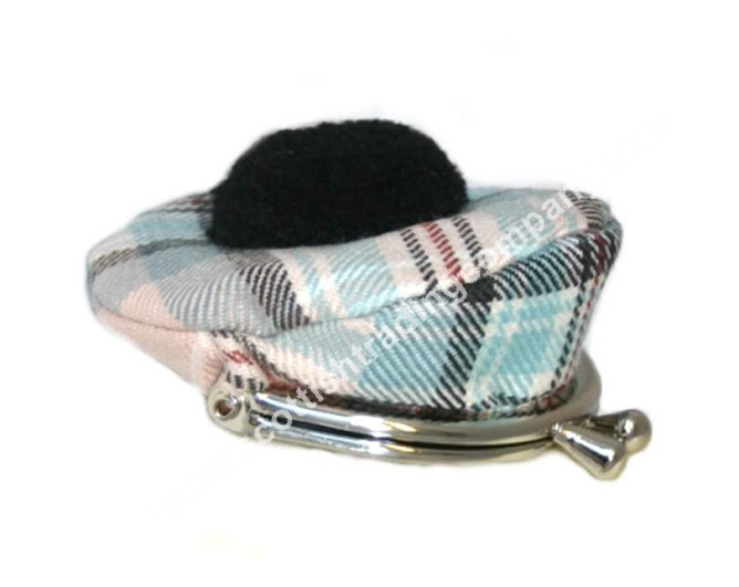Diana Memorial Rose Tartan Tam Coin Purse