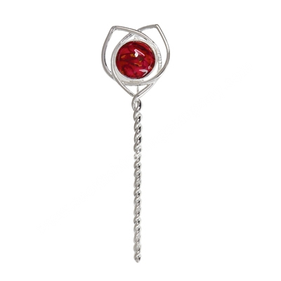Heathergem Twisted Stem Kilt Pin