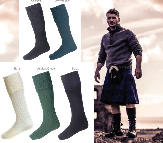 House of Cheviot Glencoe Kilt Hose