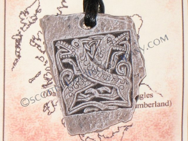 Celtic Hounds Pendent