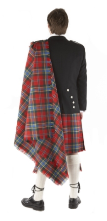 Fly Plaid in 13oz Tartan