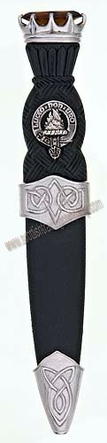 Celtic Stone Top Clan Sgian Dubh