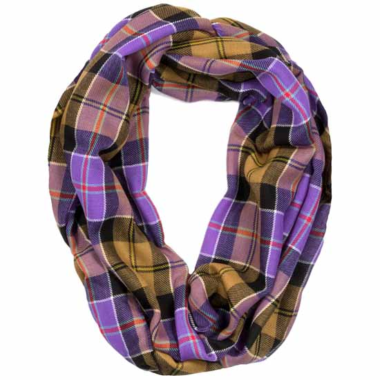 Culloden Ancient Tartan Infinity Scarf