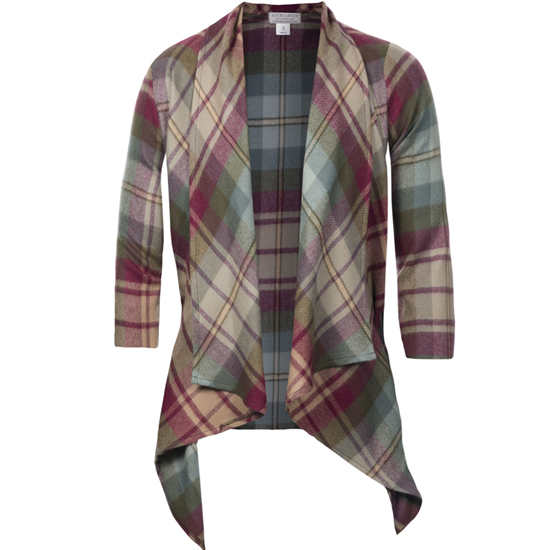 Auld Scotland Tartan Kerry Jacket - Click Image to Close