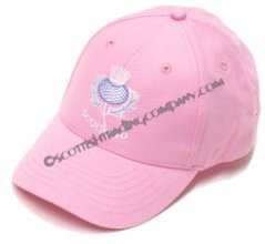Scotland Baseball Hat in Pink