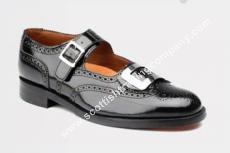 Traditional Scottish Buckle Shoe Special US 8 1/2