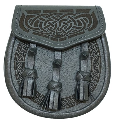 Celtic Knot Engraved Sporran