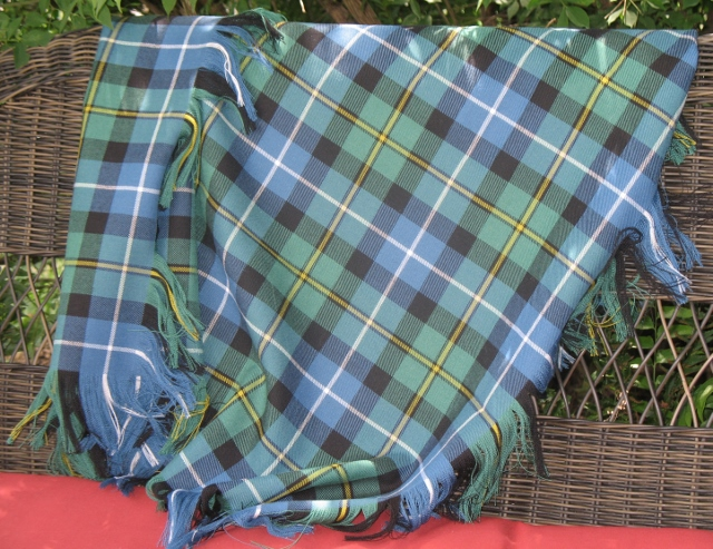 Scottish Lap Blanket In 13oz. Tartans