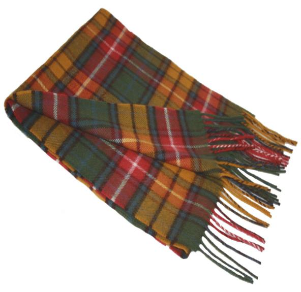 Buchanan Clan Antique Tartan Scarf