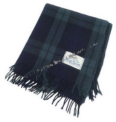 Black Watch Large Tartan Blanket