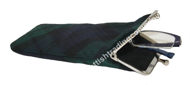 Scottish Tartan Eye Glasses Case