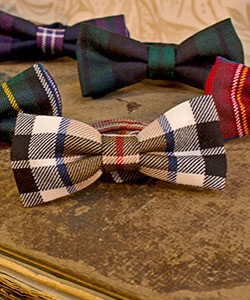 Scottish Tartan Bow Ties