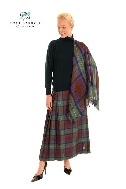 Wonderful Ladies Tartan Mini Kilt Scottish Mini Billie Kilt Mod Skirt Sizes 26