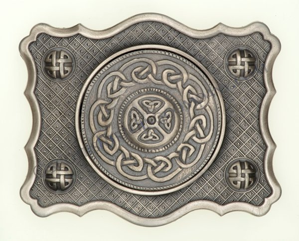 Celtic Belt Buckle Antique Finish