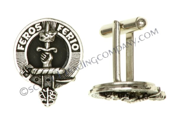 Clan Crest Cuff Links
