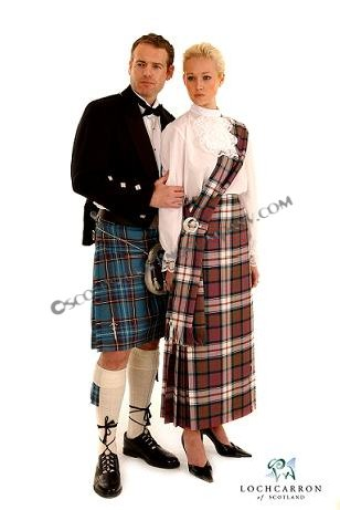 Prince Charlie Outfit with 13oz 8 yard Kilt