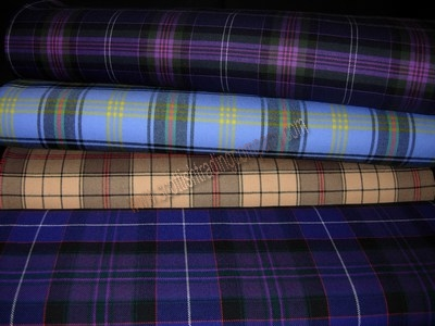 15oz Selkirk Mill Tartans