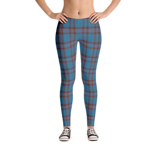 Custom Scottish Tartan Leggings
