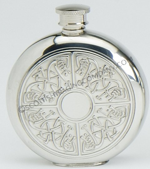 Celtic Quadrant Flask