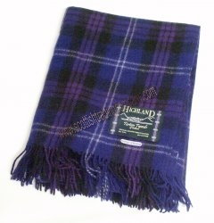 Scottish Heritage Tartan Large Blanket
