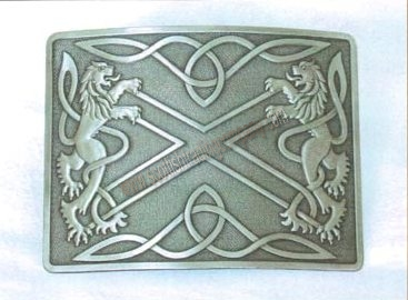 Highland Saltire Kilt Belt Buckle