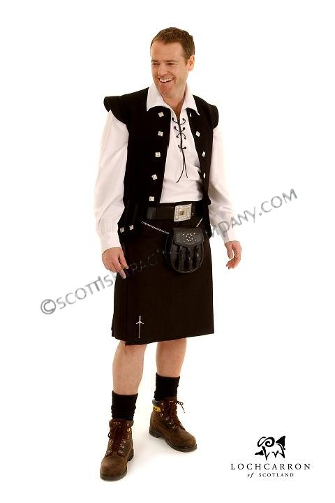 8 Yard Reiver 11oz Kilt with Irish , Canadian and Dancer Tartans