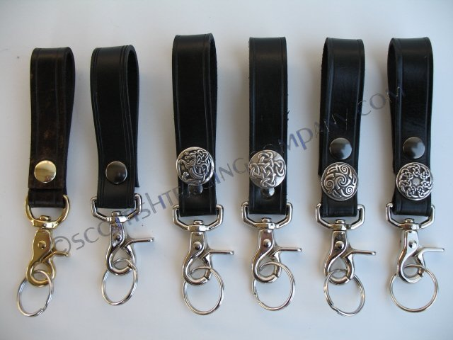 Kilt Belt Key Holder