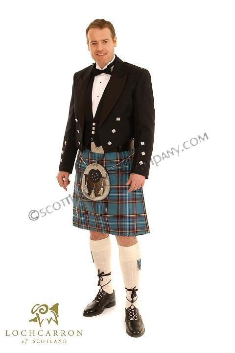 Prince Charlie Outfit with 11oz 8 yard Kilt