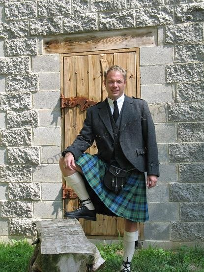 Traditional 13oz 8yard Scottish Tartans Kilt