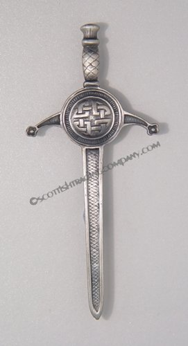 Antique Interlace Kilt Pin