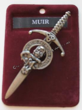 Clan Crest Kilt Pins by Gaelic Themes