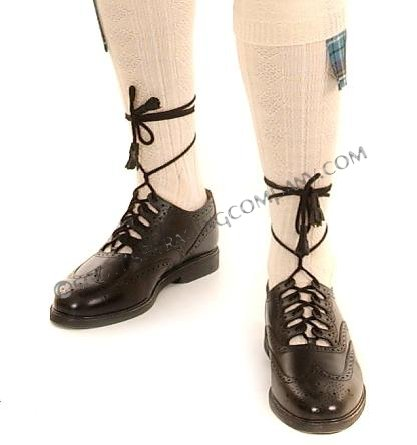 How To Tie Kilt Shoe Laces