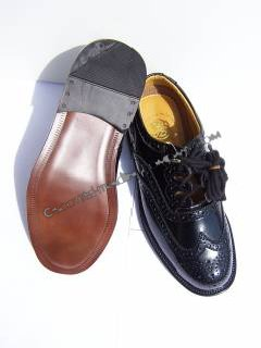 Leather Sole Scottish Ghille Brogue Shoes Special US 12