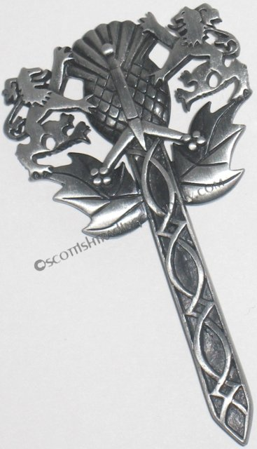 Scottish Emblem Kilt Pin
