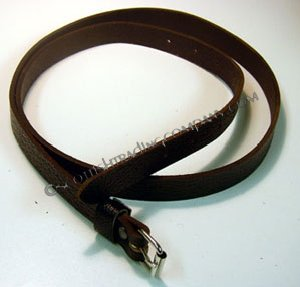 Brown Leather Sporran Strap