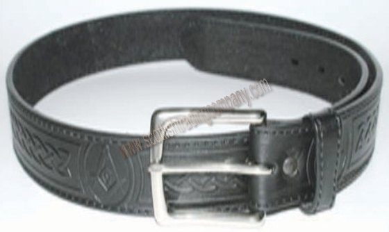 Masonic and Celtic Knot Casual Belt